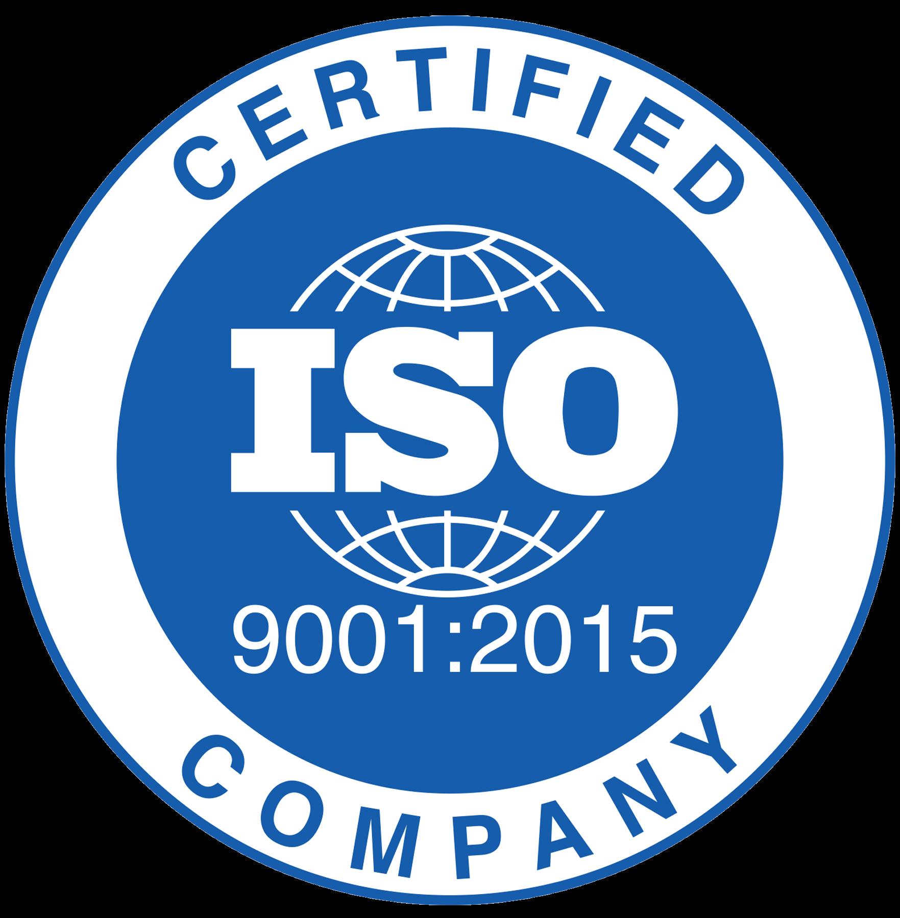 Получен сертификат соответствия (ISO 9001:2015, ISO 14001:2015, OHSAS 18001:2007)