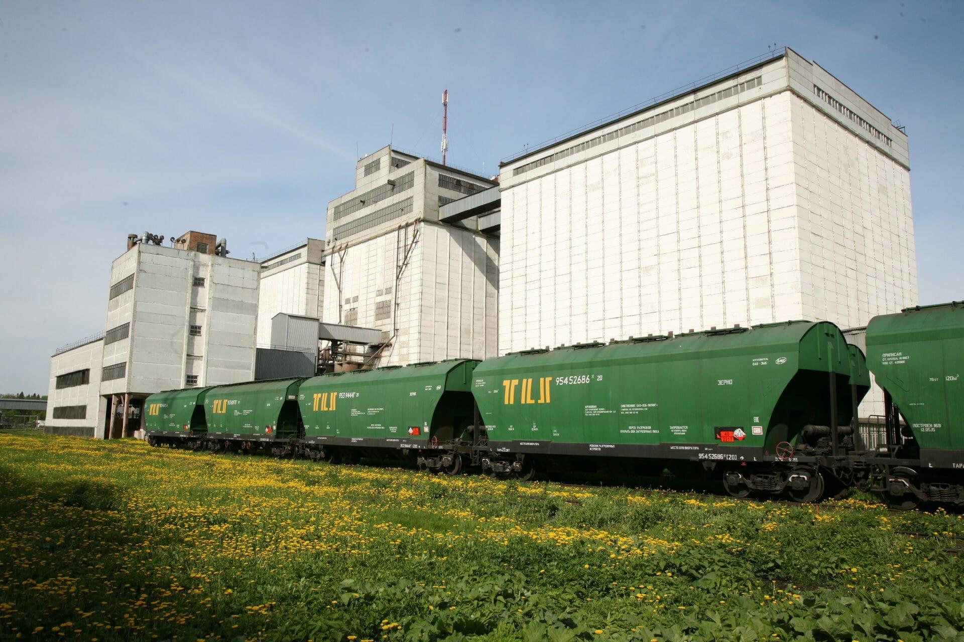 Фумигация зерна в вагонах-зерновозах